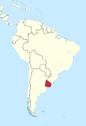 polozenie-urugwaju-na-mapie-ameryki-poludniowej